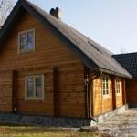 Kantpalkmaja Saaremaal